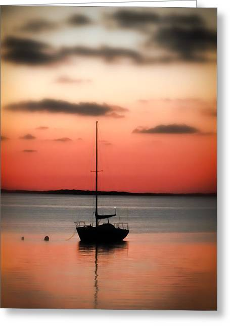 Calm Waters Greeting Cards - CORAL of the KEYS Greeting Card by Karen Wiles