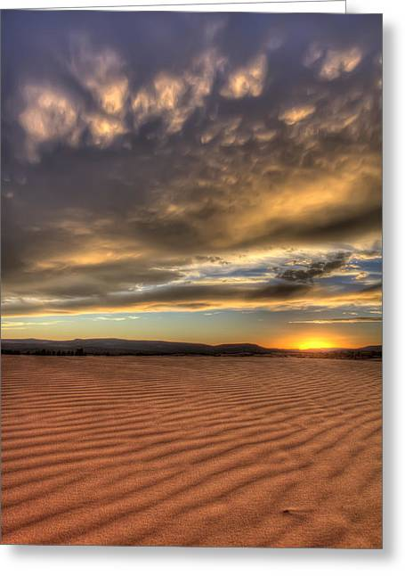 Coral Pink Sand Dunes Greeting Cards - Coral Pink Sand Dunes Utah Greeting Card by Pierre Leclerc Photography