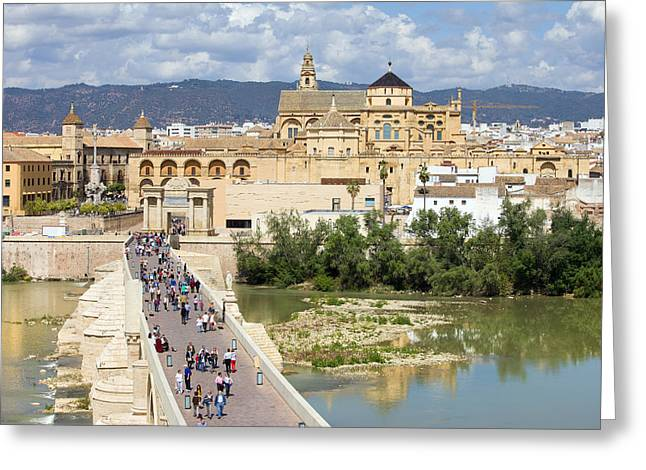 Citizens Greeting Cards - Cordoba in Spain Greeting Card by Artur Bogacki