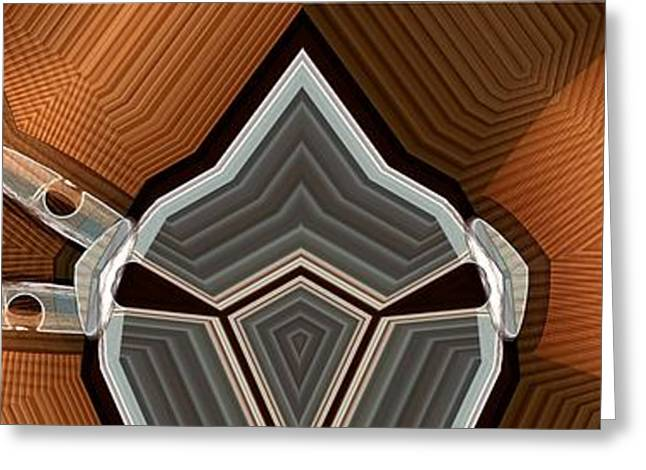 Corduroys Greeting Cards - Corduroy and Chrome Greeting Card by Ron Bissett