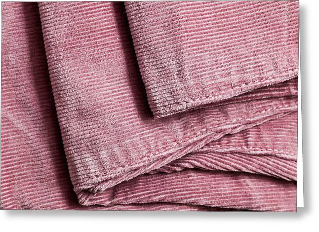 Corduroys Greeting Cards - Corduroy Trousers Greeting Card by Tom Gowanlock