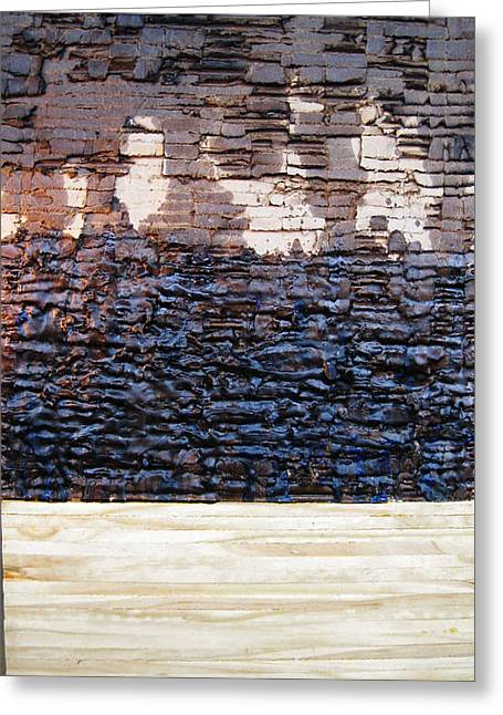 Geology Reliefs Greeting Cards - Core Sample Greeting Card by Alan Wold