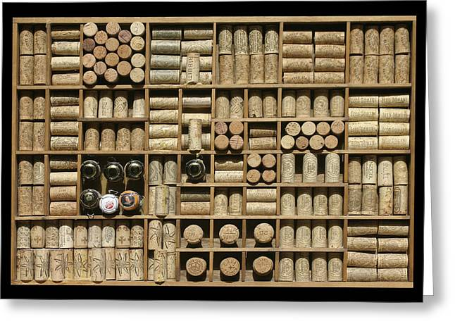 Because Greeting Cards - Corked and Uncorked Greeting Card by Jack Pumphrey