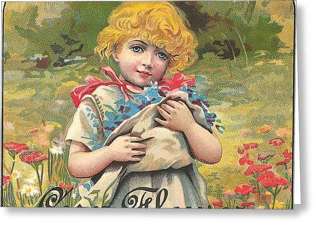 Flour Greeting Cards - Corn Flour Greeting Card by Studio Art