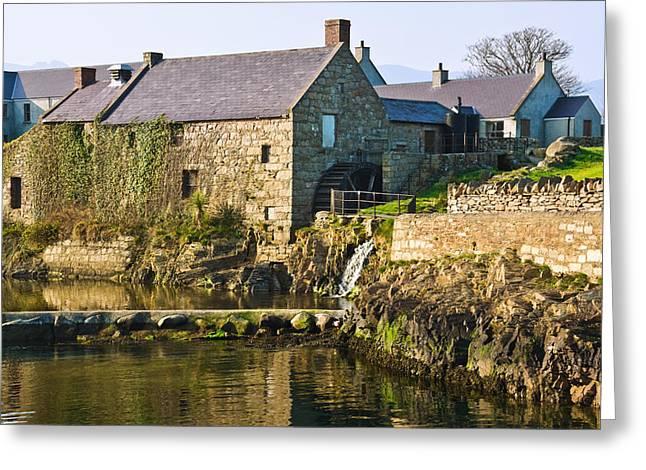 Jane Mcilroy Greeting Cards - Corn Mill Annalong Northern Ireland Greeting Card by Jane McIlroy