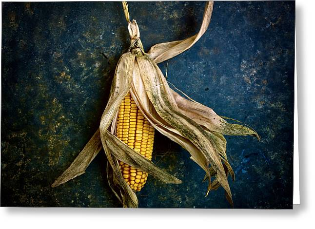Corn Greeting Cards - Corn on the cob Greeting Card by Bernard Jaubert