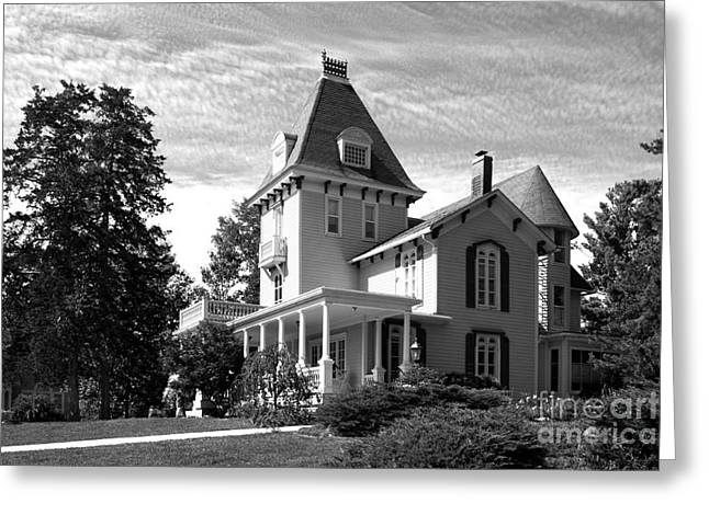 Liberal Greeting Cards - Cornell College Presidents House Greeting Card by University Icons