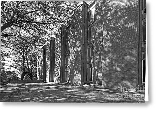 Staff Office Greeting Cards - Cornell College Tarr Hall Greeting Card by University Icons