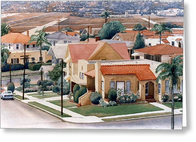 San Diego County Greeting Cards - Corner Kalmia and Brant Greeting Card by Mary Helmreich