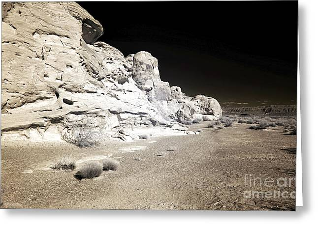 In The Corner Greeting Cards - Corner Rocks in the Valley of Fire Greeting Card by John Rizzuto
