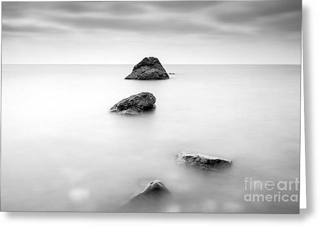 Cornish Seascape  Greeting Card by John Farnan
