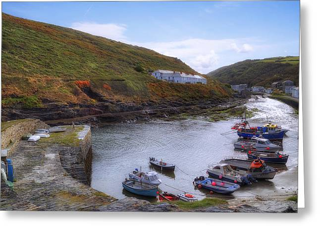 Minster Greeting Cards - Cornwall - Boscastle Greeting Card by Joana Kruse
