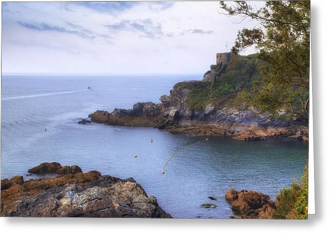 Cornwall - Fowey Greeting Card by Joana Kruse