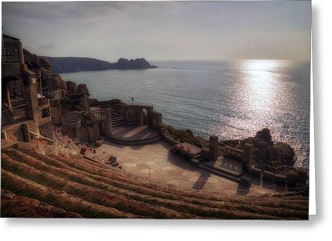 Open Air Greeting Cards - Cornwall - Minack Theatre Greeting Card by Joana Kruse