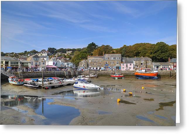 Cornwall Greeting Cards - Cornwall - Padstow Greeting Card by Joana Kruse
