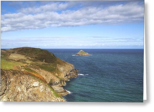 Cornwall Greeting Cards - Cornwall - Rumps Point Greeting Card by Joana Kruse