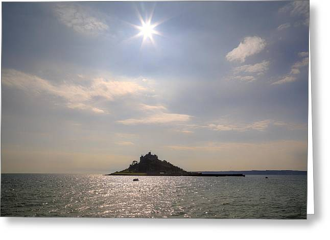 St Michael Greeting Cards - Cornwall - St Michaels Mount Greeting Card by Joana Kruse