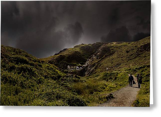 Ocean Photography Greeting Cards - Cornwall Kynance Cove Greeting Card by Martin Newman