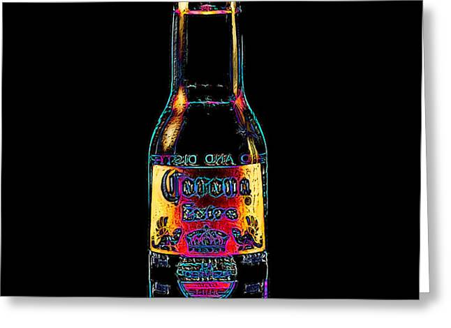 Corona Beer 20130405 Greeting Card by Wingsdomain Art and Photography