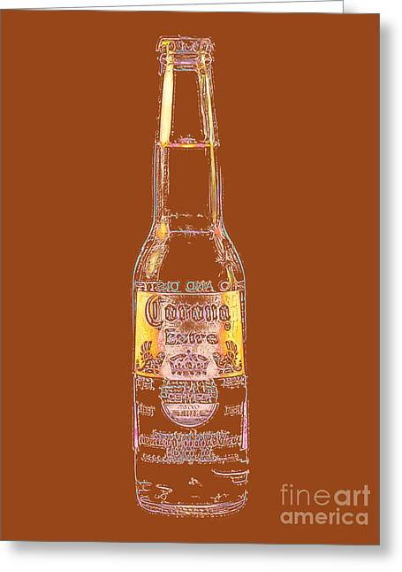 Corona Beer 20130405v2 Greeting Card by Wingsdomain Art and Photography