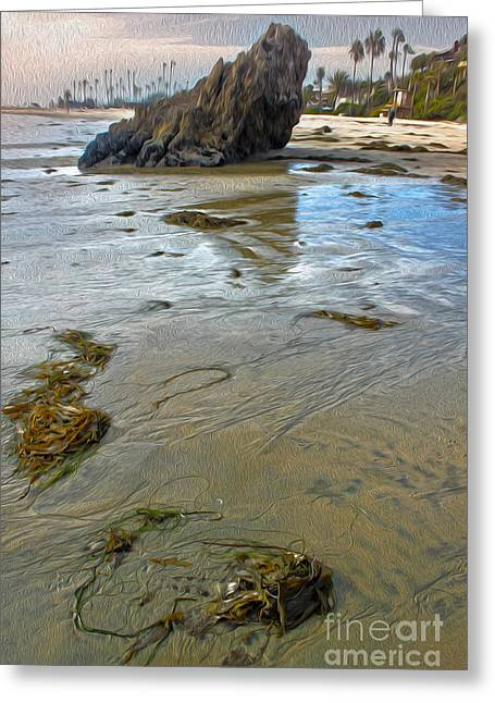 Gregory Dyer Greeting Cards - Corona del Mar Coast Greeting Card by Gregory Dyer