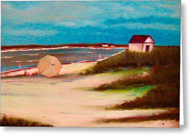 Island Stays Greeting Cards - Coronado Island Greeting Card by Yolanda Terrell