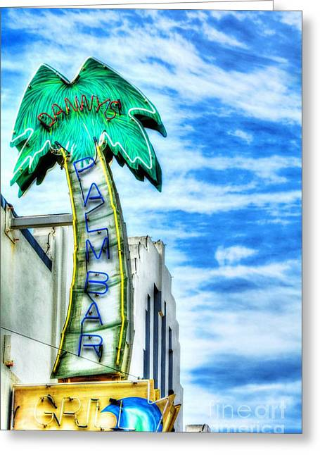 Coronado Island Greeting Cards - Coronado Neon Dreams Greeting Card by Mel Steinhauer