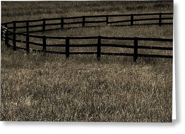Corral Greeting Cards - Corral Greeting Card by Robert Geary