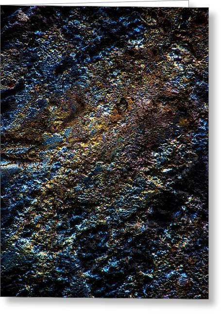 Pump Jack Corrosion 1 Greeting Card by Tabitha Williams