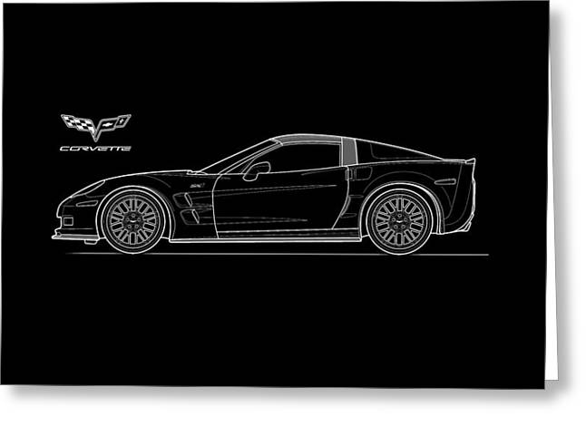 Chevrolet Photographs Greeting Cards - Corvette Phone Case Greeting Card by Mark Rogan
