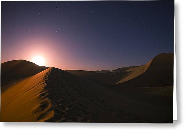Dunes Greeting Cards - Cosine Greeting Card by Aaron S Bedell