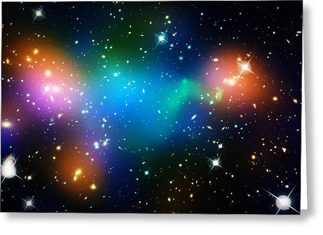 Constellations Greeting Cards - Cosmic Glow Greeting Card by The  Vault - Jennifer Rondinelli Reilly