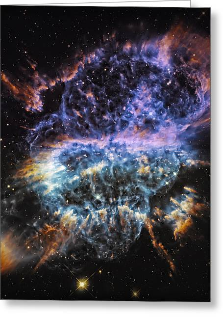 Cosmic Infinity 2 Greeting Card by The  Vault - Jennifer Rondinelli Reilly