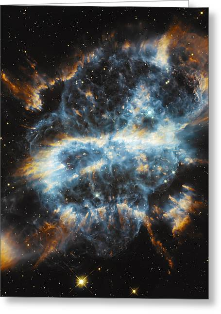 Psychedelic Space Art Greeting Cards - Cosmic Infinity Greeting Card by The  Vault - Jennifer Rondinelli Reilly
