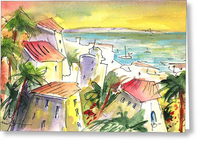 Costa Adeje 04 Greeting Card by Miki De Goodaboom