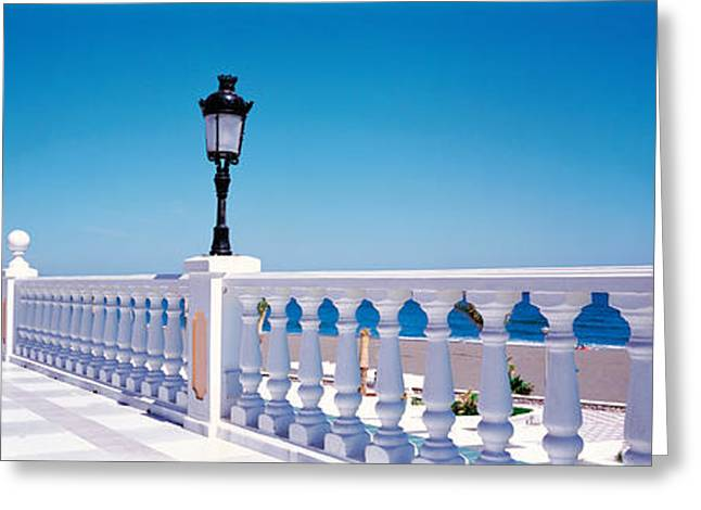 Sea View Greeting Cards - Costa Del Sol Estepa Spain Greeting Card by Panoramic Images