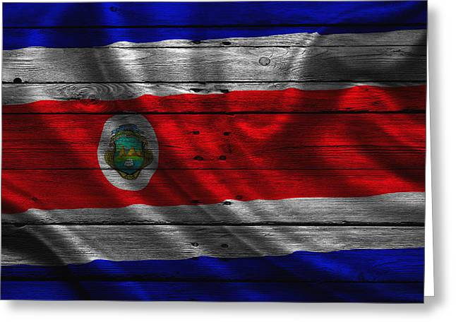 Costa Rica Greeting Card by Joe Hamilton