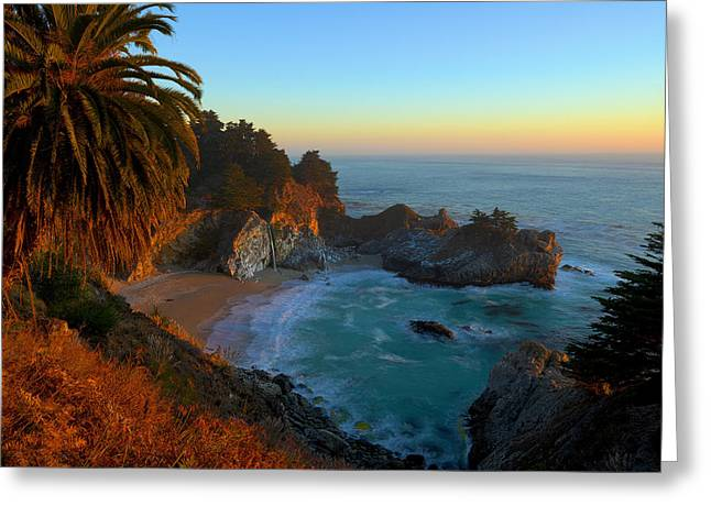 Pfeiffer Beach Greeting Cards - Costal Paradise Greeting Card by Michael Sims