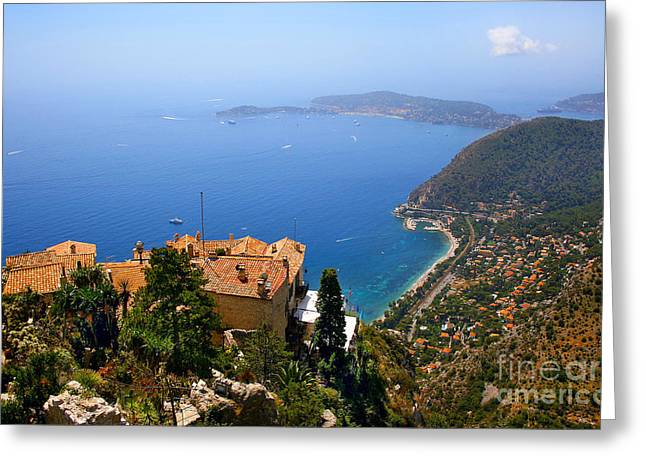 Azur Greeting Cards - Cote dAzur Greeting Card by JR Photography