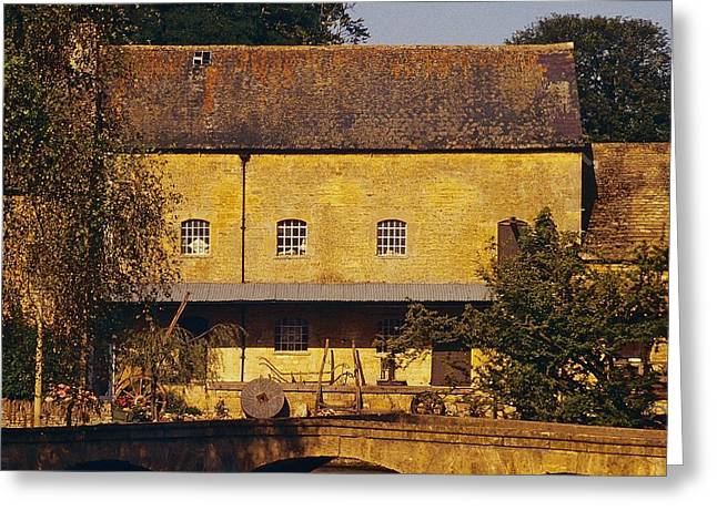 Historic Home Greeting Cards - Cotswold Cottage Greeting Card by Stuart Litoff