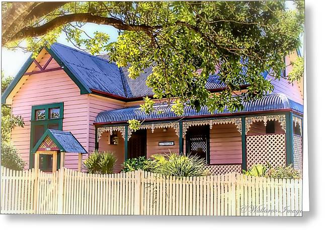 Charming Cottage Digital Art Greeting Cards - Cottage Collection Emily Greeting Card by Wallaroo Images