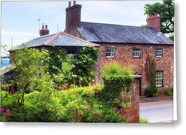 Cottage Photographs Greeting Cards - Cottage in England Greeting Card by Joana Kruse