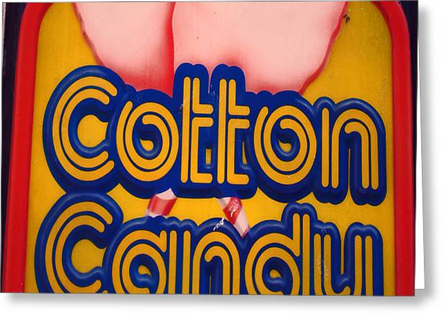 COTTON CANDY Greeting Card by Skip Willits