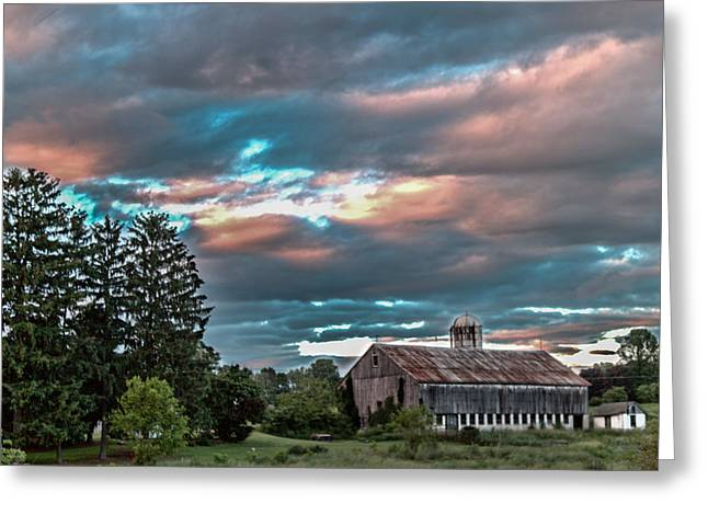 Jahred Allen Photography Greeting Cards - Cotton Candy Sky Greeting Card by Jahred Allen
