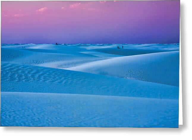 Sand Patterns Greeting Cards - Cotton Candy Greeting Card by Tom Weisbrook