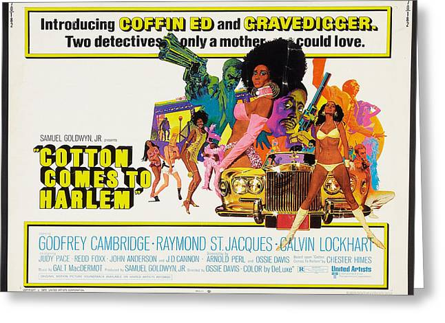 Cotton Comes To Harlem Poster Greeting Card by Gianfranco Weiss