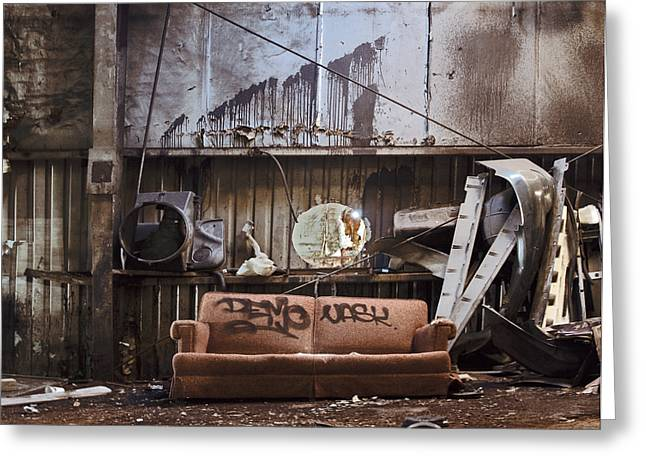 Photography As Art Greeting Cards - Couch Greeting Card by Steven  Michael