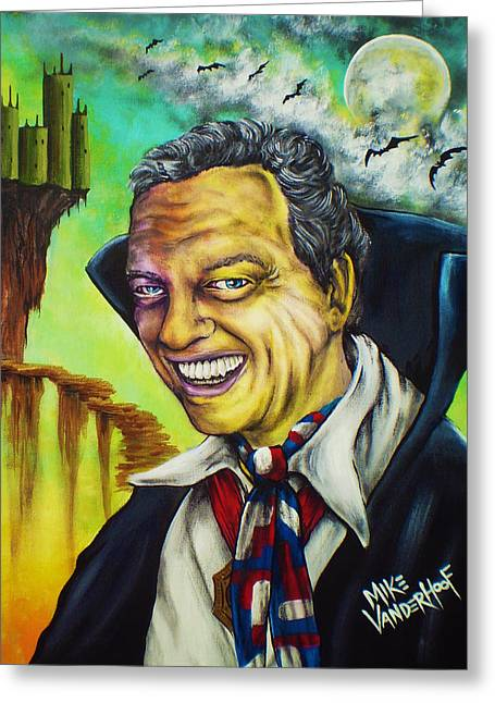 Don Knotts Greeting Cards - Count Furley by Mike Vanderhoof Greeting Card by Mike Vanderhoof