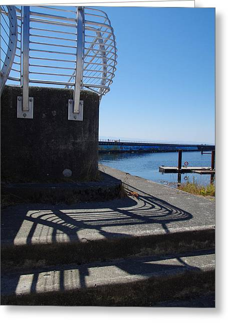 Deep Bay British Columbia Greeting Cards - Count the Lines Greeting Card by Marilyn Wilson