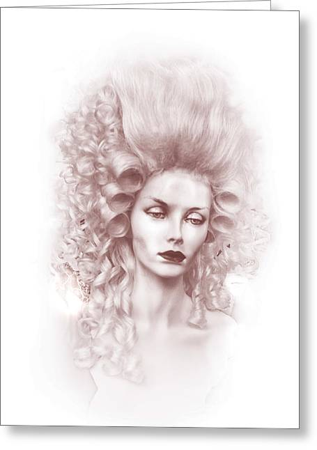 Countess Greeting Cards - CountessRose Greeting Card by Camille Lopez